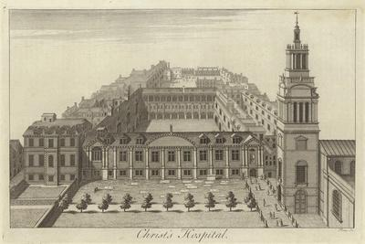 Christ's Hospital, London--Giclee Print