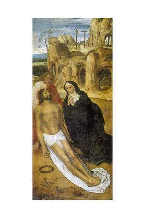 Christ's Passion, Detail from the Altarpiece of St Antony, 16th Century--Giclee Print