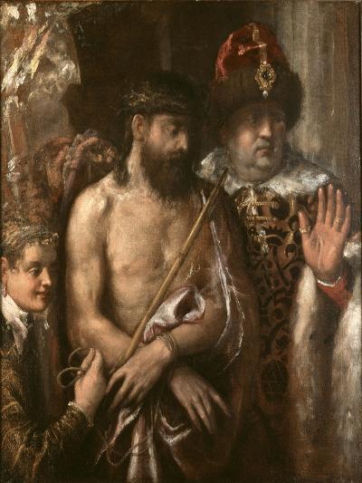 Christ Shown to the People (Ecce Homo) C.1570-76-Titian (Tiziano Vecelli)-Giclee Print