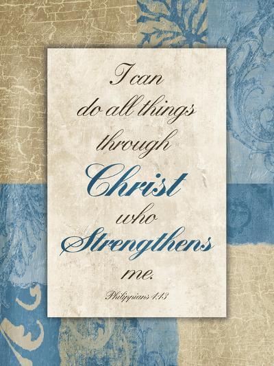 Christ Strength-Jace Grey-Art Print