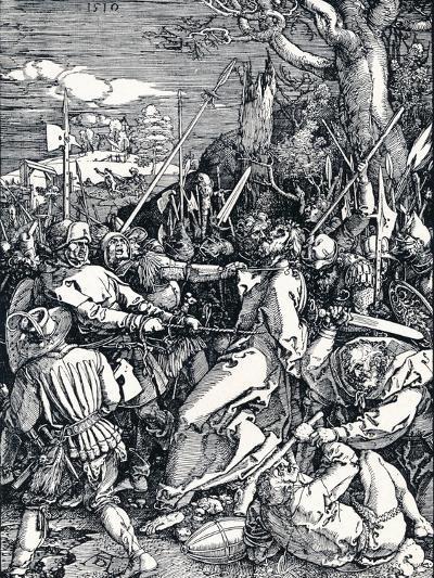 Christ Taken Captive, 1510-Albrecht D?rer-Giclee Print