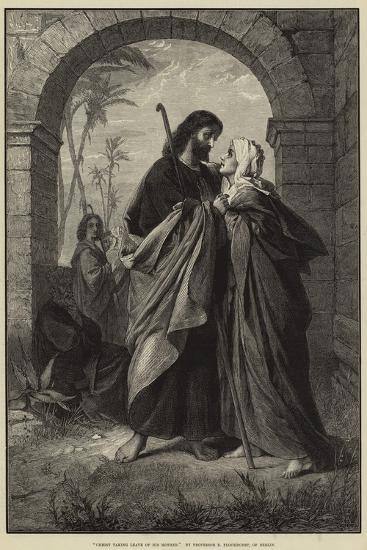 Christ Taking Leave of His Mother--Giclee Print