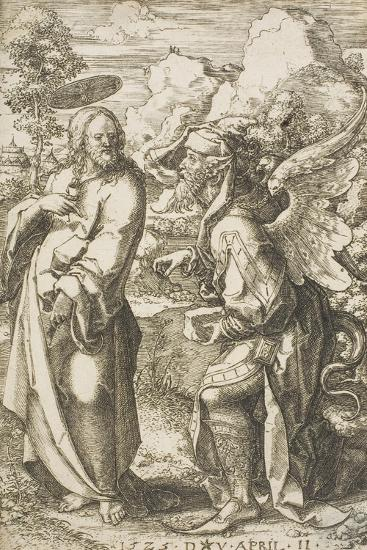 Christ Tempted by the Devil, 1525-Dirk Jacobsz Vellert-Giclee Print