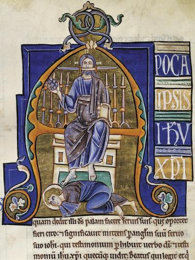 Christ: the Book of Revelation, Miniature from the Bible of Souvigny--Giclee Print