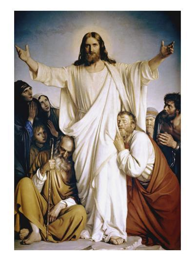 Christ the Consoler-Carl Bloch-Giclee Print