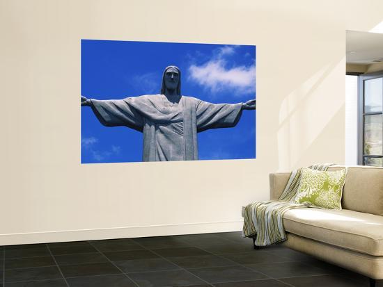 Christ the Redeemer Statue, Corcovado, Rio de Janeiro, Brazil--Giant Art Print