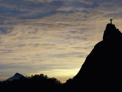 Christ the Redeemer Statue, Rio de Janeiro, Brazil--Photographic Print