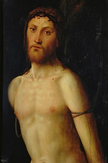 Christ Tied to the Column-Lorenzo Costa-Giclee Print