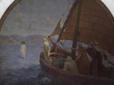 Christ Walking on Water, 1921--Giclee Print