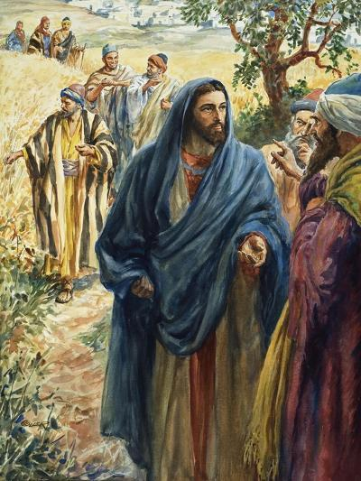 Christ with His Disciples-Henry Coller-Giclee Print