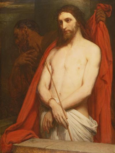 Christ with the Reed-Ary Scheffer-Giclee Print