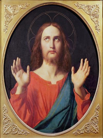 Christ-Jean-Auguste-Dominique Ingres-Giclee Print