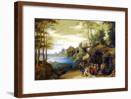 Christ-Pieter Brueghel the Younger-Framed Art Print