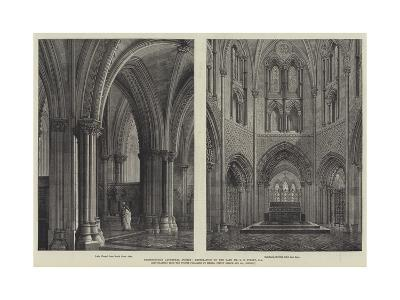 Christchurch Cathedral, Dublin, Restoration by the Late Mr G E Street, Ra-Henry William Brewer-Giclee Print