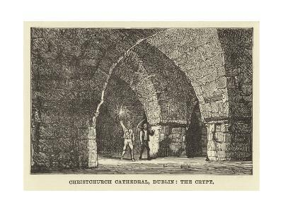 Christchurch Cathedral, Dublin, the Crypt--Giclee Print