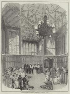Christening of Prince Alfred, in the Private Chapel, Windsor Castle