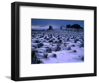 Monument Valley in Winter, Monument Valley Navajo Tribal Park, Arizona