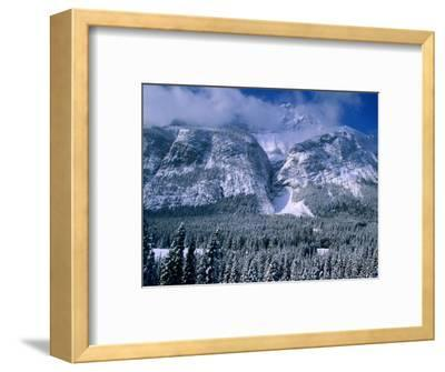 Rocky Mountains in Winter, Banff National Park, Alberta, Canada