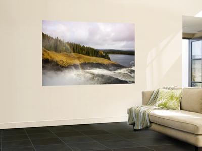 Tannforsen Waterfall and Nature Reserve