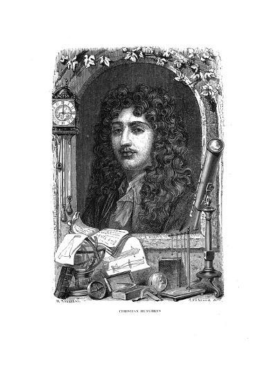 Christiaan Huygens (1629-169), Dutch Physicist, Mathematician and Astronomer, C1870--Giclee Print