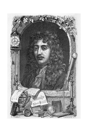 Christiaan Huygens, Dutch Physicist-Science Photo Library-Giclee Print