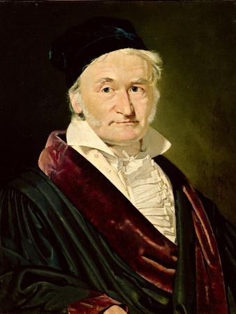 Portrait of Carl Friedrich Gauss, 1840