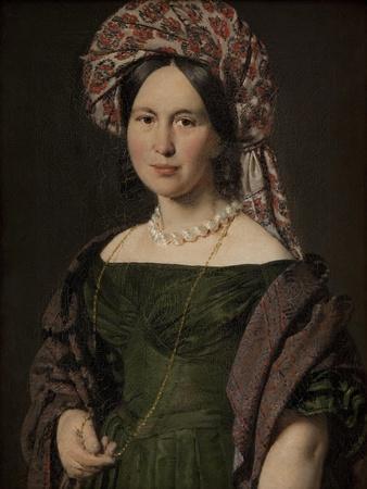 The artist's wife Cathrine, 1842-4