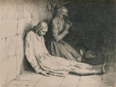 Christian and Hopeful in the Dungeon, C1916-William Strang-Giclee Print
