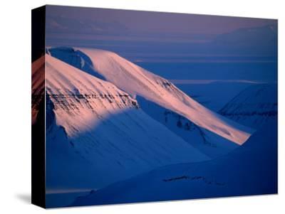 Valley of Reindalen., Spitsbergen Island, Svalbard