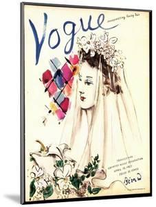 Vogue Cover - April 1937 - Spring Wedding by Christian Berard