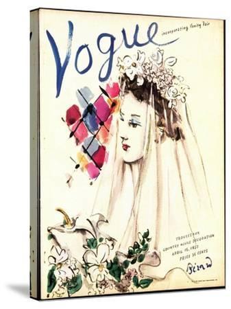 Vogue Cover - April 1937 - Spring Wedding