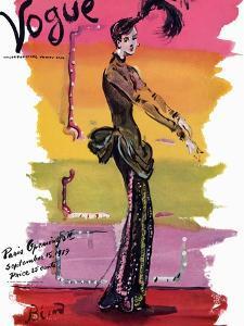 Vogue Cover - September 1939 - Parisian Rainbow by Christian Berard