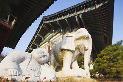 Bongeun-Sa Temple, Seoul, South Korea, Asia