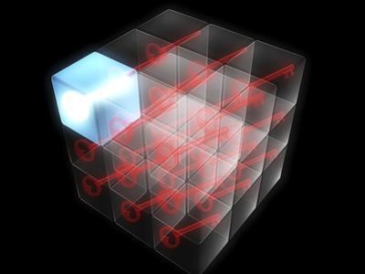 Quantum Encryption, Computer Artwork by Christian Darkin