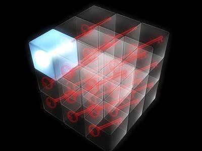 Quantum Encryption, Computer Artwork