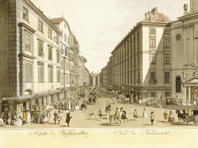 View of Kohlmarkt, 1786