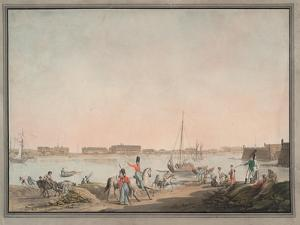 View of St. Petersburg from the Neva, 1808 by Christian Gottlieb Hammer