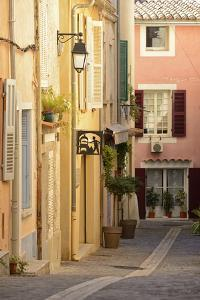 A Street in Cassis, Provence Alpes Cote D'Azur, Provence, France, Europe by Christian Heeb