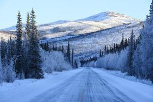 Chena Hot Springs Road.Fairbanks,Alaska,Usa by Christian Heeb