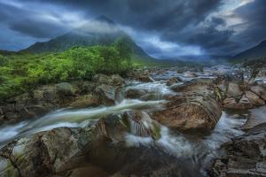 Europe, United Kingdom, Scotland, Glen Etive by Christian Heeb