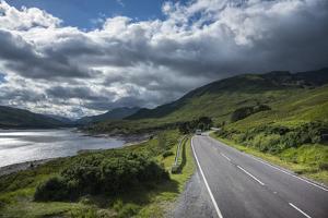 Europe, United Kingdom, Scotland, Highway near Fort William by Christian Heeb