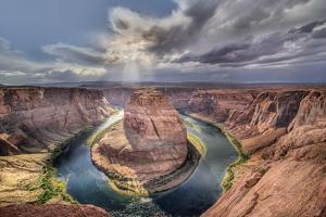 Horseshoe Bend and the Colorado River, Glen Canyon National Rec. Area, Arizona, USA by Christian Heeb
