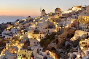 Oia,Santorini, Kyclades,South Aegean, Greece,Europe by Christian Heeb