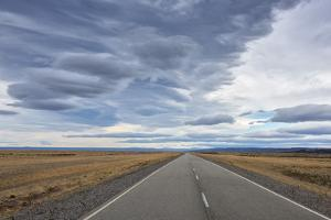 South America, Argentina, Chubut, Patagonia, Ruta 40 near Rio Mayo by Christian Heeb