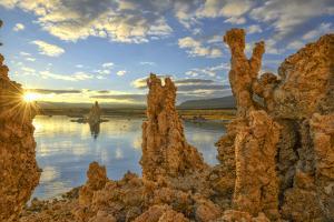 USA, California, Eastern Sierra, Mono Lake sunrise by Christian Heeb