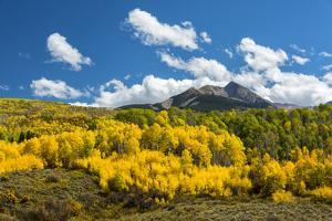 USA, Colorado, McClure Pass in the Colorado Rockies by Christian Heeb