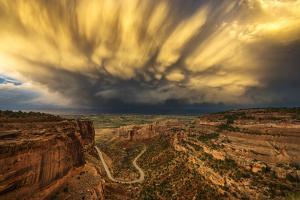 USA, Colorado, Mesa County, Colorado National Monument by Christian Heeb
