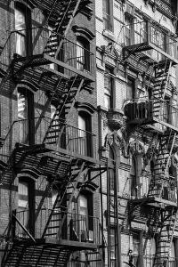 USA, East Coast, New York, Manhattan, New York , Lower Eastside building by Christian Heeb
