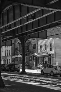 USA, New York, Queens, Astoria, under the subway by Christian Heeb
