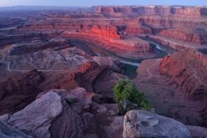 Usa, Southwest, Colorado Plateau, Utah,Deadhorse Point State Park, Colorado River by Christian Heeb